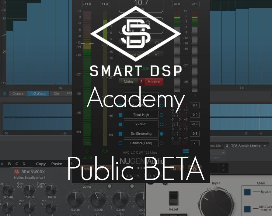 Smart DSP Academy Public Beta